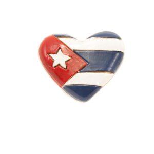 Magnet s kubánskou vlajkou